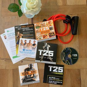 NEW Beachbody Focus T25 Workout Plan Kit